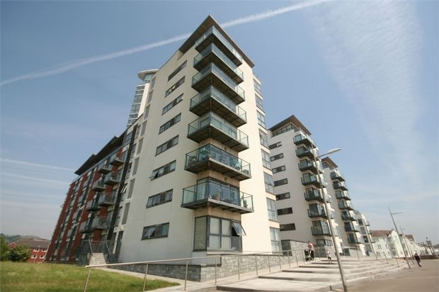 Thumbnail Flat to rent in Meridian Bay, Trawler Road, Maritime Quarter, Swansea
