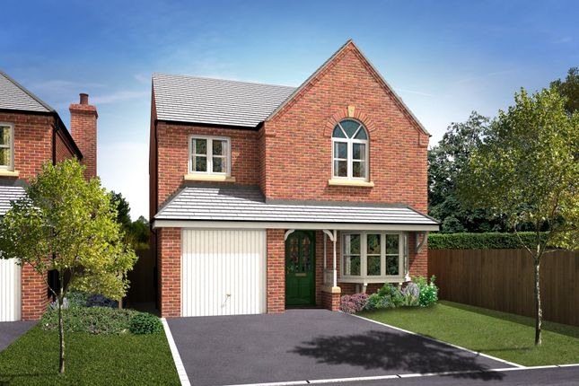 Thumbnail Detached house for sale in The Appleton 2, Trinity Gardens, Ling Road, Loughborough