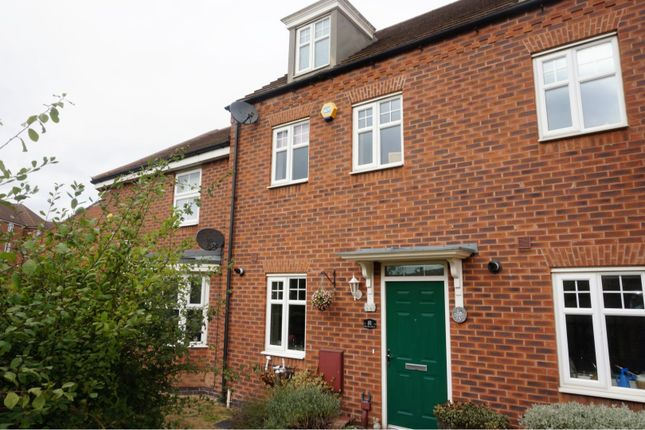 Thumbnail Town house for sale in Water Reed Grove, Walsall