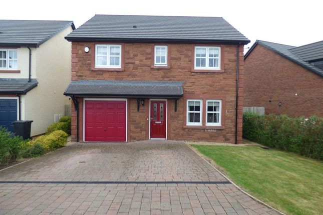Thumbnail Detached house for sale in Ascot Way, Carlisle