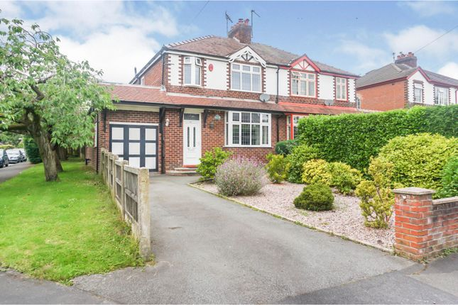 Thumbnail Semi-detached house for sale in Oxford Road, Macclesfield