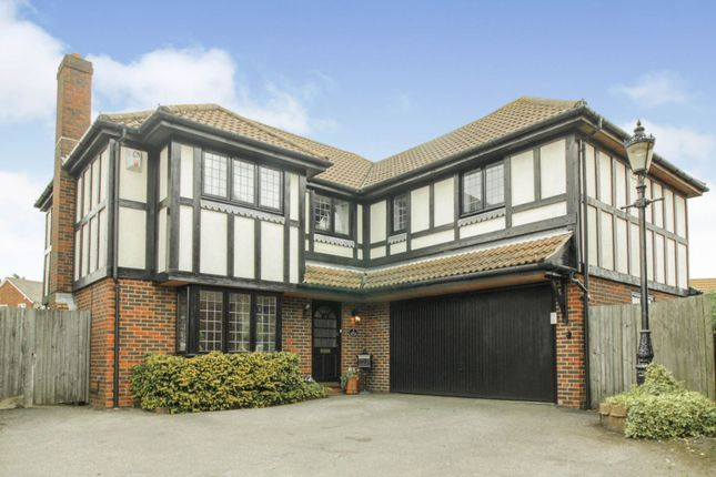 Thumbnail Detached house for sale in Hazel Close, Cheshunt