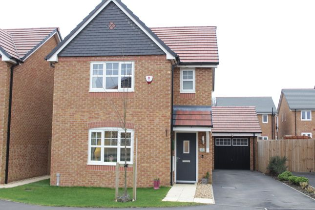 Thumbnail Detached house for sale in Teal Close, Wesham, Preston