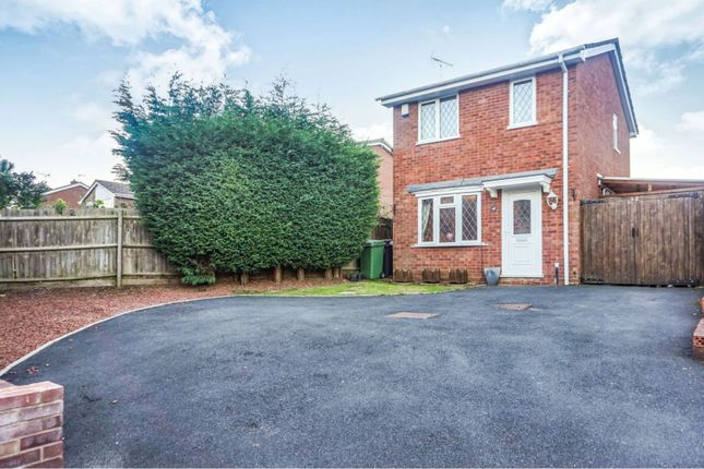 Thumbnail Detached house for sale in Beckbury Drive, Stirchley Telford
