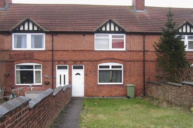 Thumbnail Terraced house to rent in Swanwick Avenue, Shirebrook, Mansfield