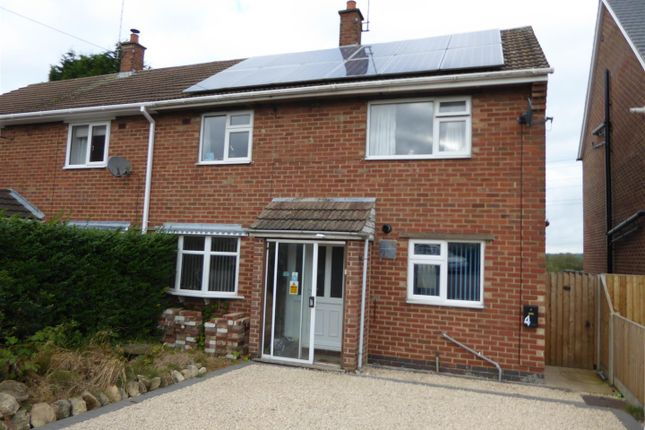 Thumbnail Semi-detached house for sale in Truro Close, Midway, Swadlincote