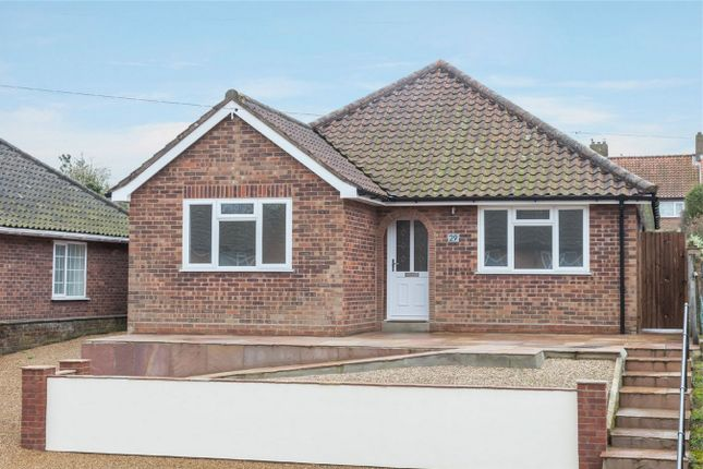 Thumbnail Detached bungalow for sale in Highfield Close, Thorpe St Andrew, Norwich