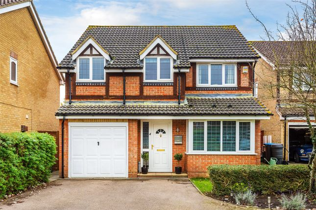 Detached house for sale in Larkfield Court, Smallfield, Horley, Surrey