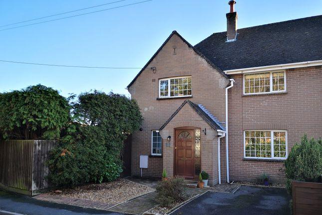 Thumbnail Semi-detached house for sale in Tyneham Close, Sandford, Wareham