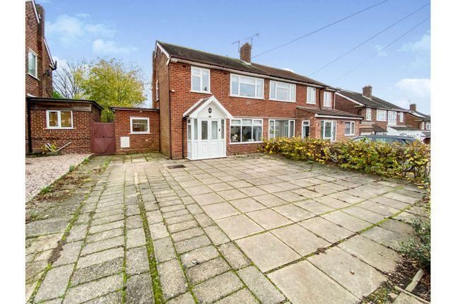 Thumbnail Semi-detached house for sale in St. Margarets Road, Birmingham