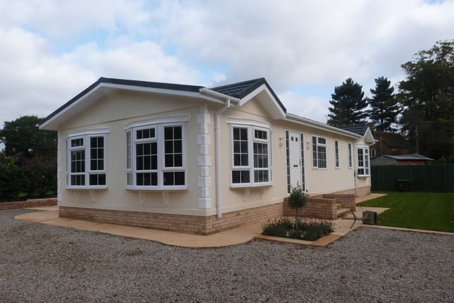 Thumbnail Mobile/park home for sale in Strayfield Road, Enfield