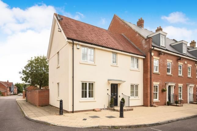 Thumbnail End terrace house for sale in Britten Crescent, Witham