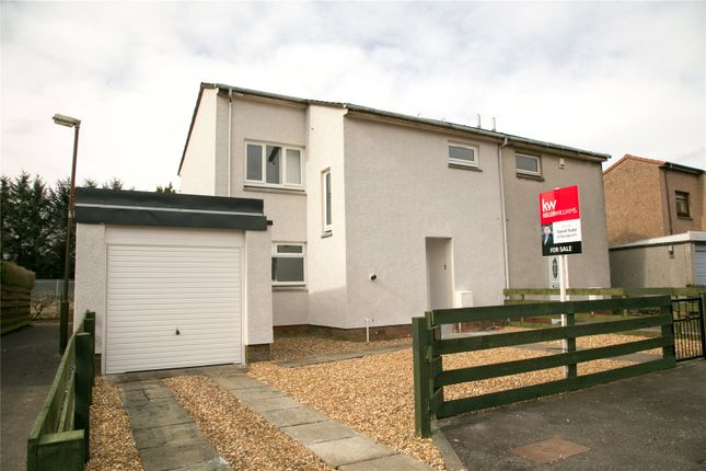 Thumbnail Semi-detached house for sale in Munro Way, Livingston