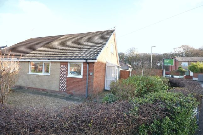 Thumbnail Semi-detached bungalow for sale in Lynwood Avenue, Clayton Le Moors, Accrington
