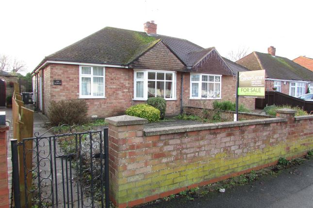 Thumbnail Semi-detached bungalow for sale in Hall Avenue, Rushden