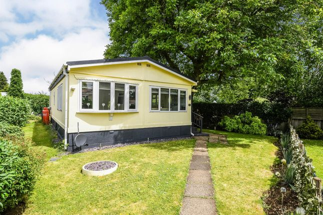 Thumbnail Mobile/park home for sale in Orchard Park, Shouldham, King's Lynn