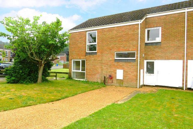 Thumbnail End terrace house to rent in Hawthorne Lane, RAF Lakenheath, Brandon