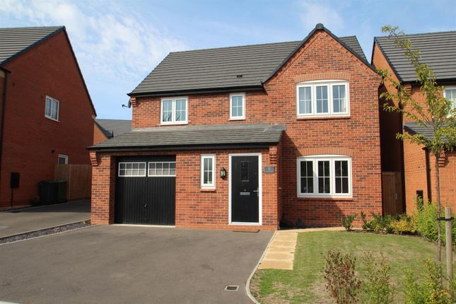 Thumbnail Detached house for sale in Damson Close, Rothley, Leicester