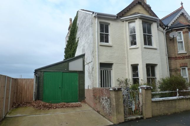 Thumbnail Semi-detached house to rent in Connaught Road, East Cowes