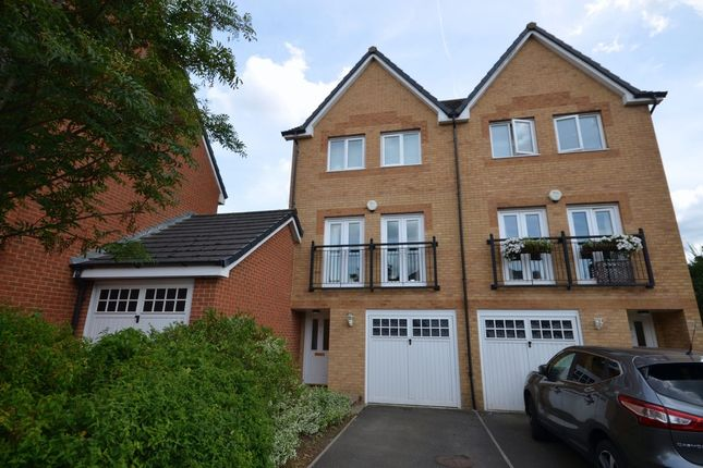 Thumbnail Town house for sale in Richmond Meech Drive, Kennington, Ashford
