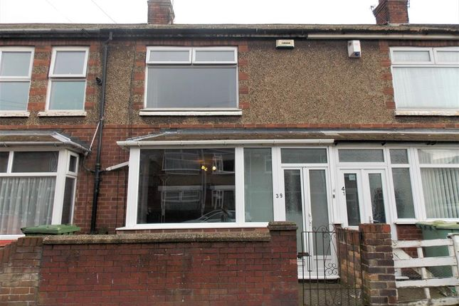 Thumbnail Terraced house for sale in Roseveare Avenue, Grimsby