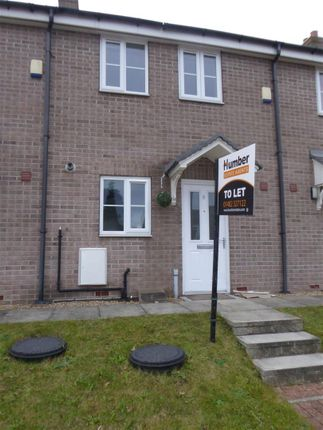 Thumbnail Terraced house to rent in Winston Churchill Close, Hessle