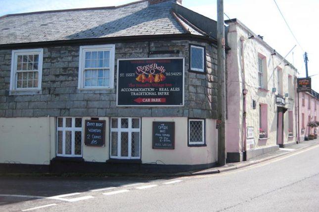 Thumbnail Pub/bar for sale in Churchtown, St. Issey, Wadebridge
