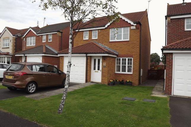 Detached house for sale in Parkside Court, Ashington