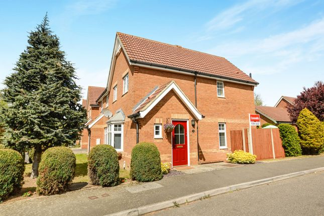 Thumbnail Semi-detached house for sale in Emperor Way, Kingsnorth, Ashford
