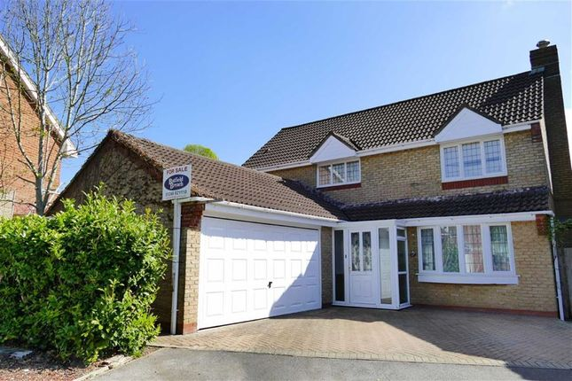 Thumbnail Detached house for sale in Saffron Meadow, Chilvester Park, Calne
