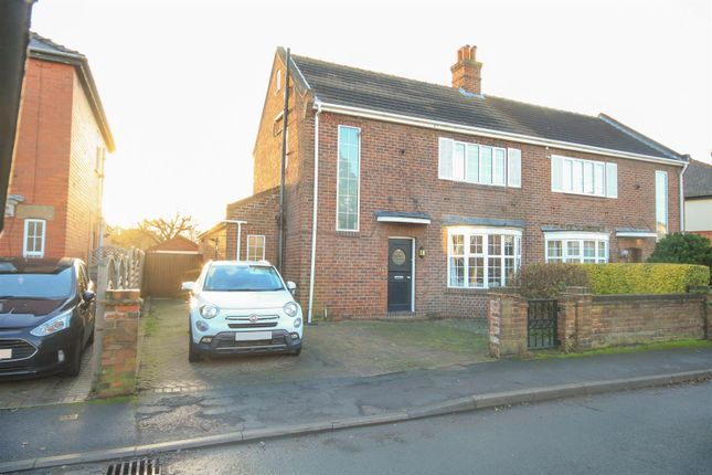 Thumbnail Semi-detached house for sale in Hillcrest Road, Wheatley Hills, Doncaster