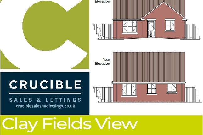 Thumbnail Detached bungalow for sale in Plot 5, Clay Fields Views, Clay Cross, Chesterfield