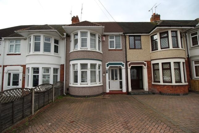 Thumbnail Terraced house to rent in Eversleigh Road, Coventry