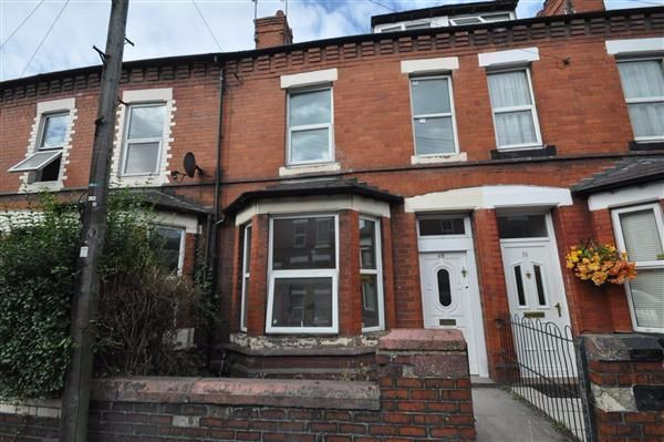 Thumbnail Terraced house to rent in Ermine Road, Hoole, Chester