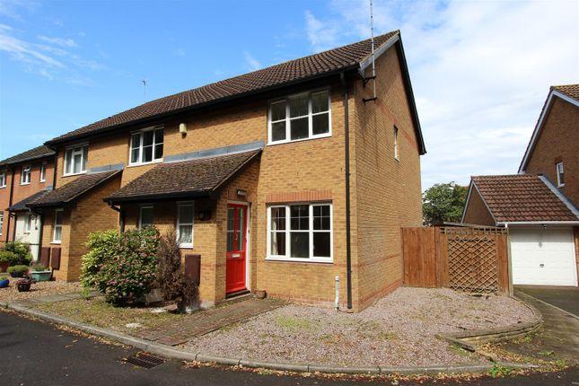 Thumbnail End terrace house to rent in Minstrel Close, Gadebridge Park, Hemel Hempstead