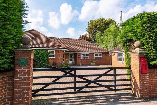 Thumbnail Detached bungalow for sale in Boroughbridge Road, Upper Poppleton, York