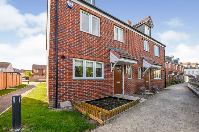 Thumbnail Semi-detached house for sale in Ellingham View, Dartford, Kent