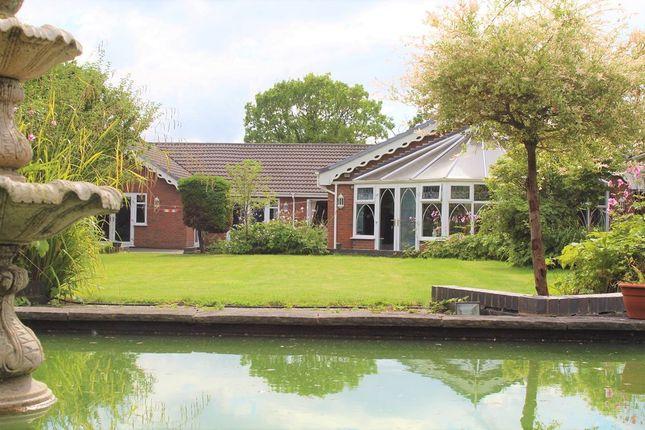 Thumbnail Detached bungalow for sale in Burtonwood Road, Warrington