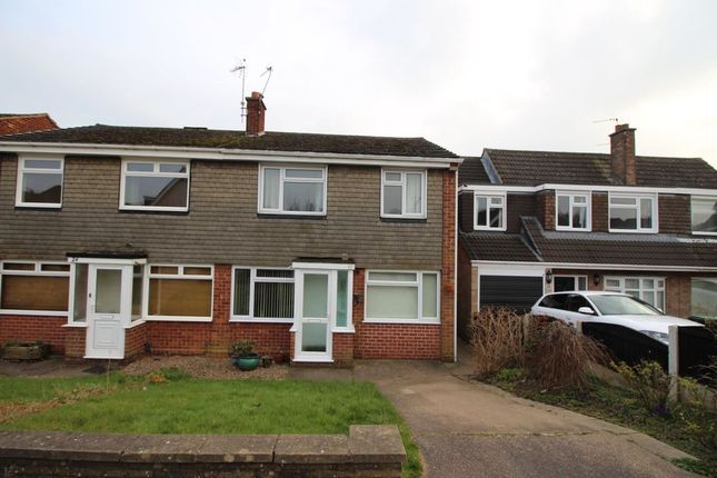 Thumbnail Semi-detached house to rent in Sisley Avenue, Stapleford, Nottingham
