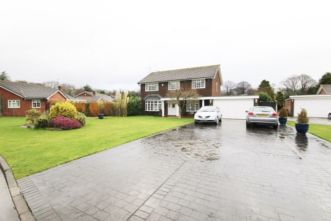 Thumbnail Detached house for sale in Haydock Park Gardens, Newton-Le-Willows