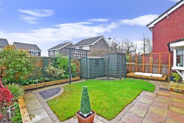 Rear Garden of Neville Gardens, Emsworth, Hampshire PO10