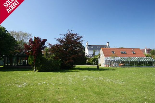 Thumbnail Detached house for sale in Hawkesbury, La Route Du Braye, St Sampson's
