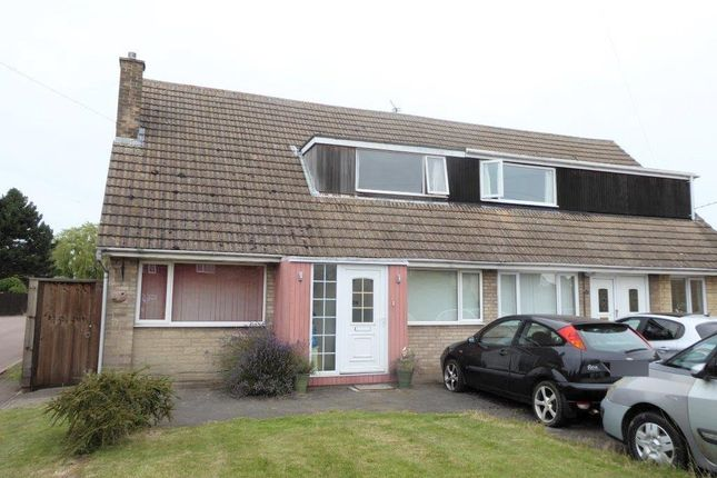 Thumbnail Semi-detached house for sale in Kirby Road, Gretton, Corby