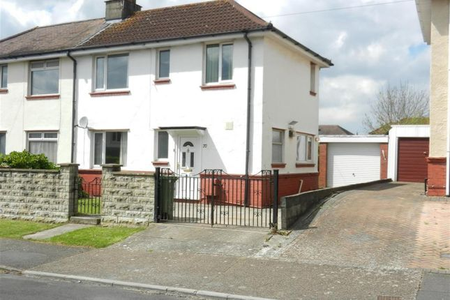 Thumbnail Semi-detached house to rent in Kingshilll Road, Knowle, Bristol