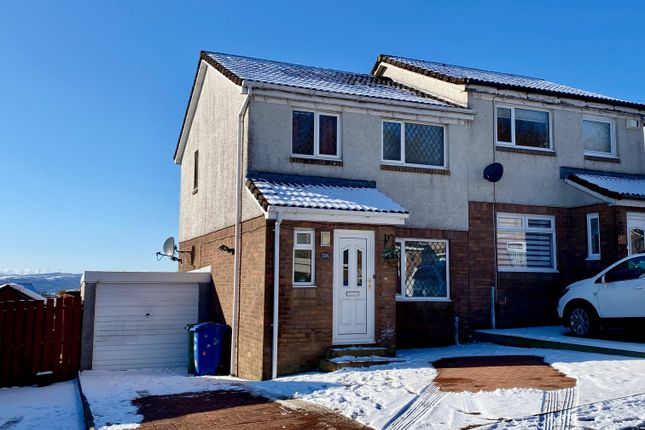 Thumbnail Semi-detached house for sale in Broomhill Crescent, Alexandria, West Dunbartonshire