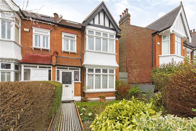 Thumbnail Semi-detached house for sale in Madrid Road, Barnes