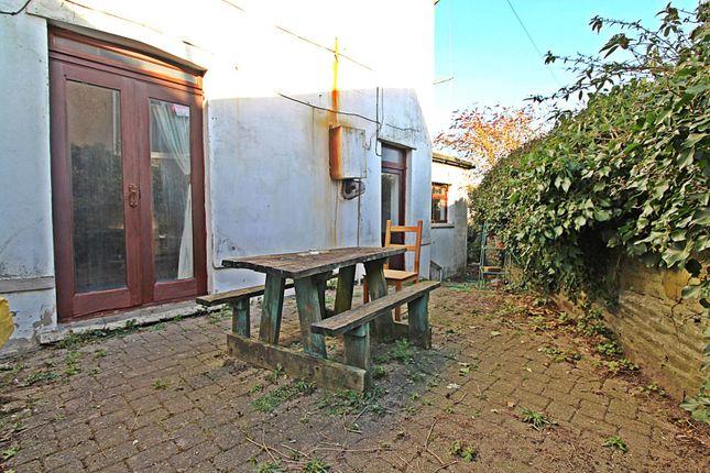 Side Garden of Park Crescent, Treforest, Pontypridd, Rhondda Cynon Taff CF37