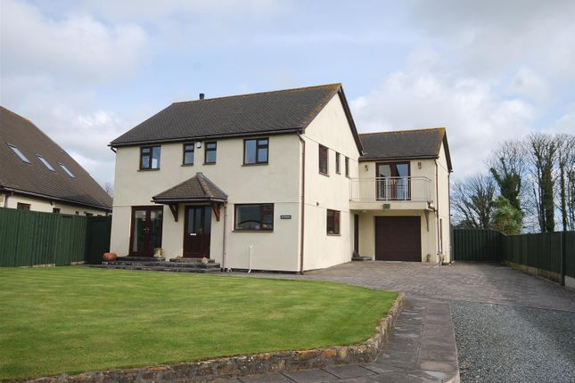 Thumbnail Detached house for sale in Crowlas, Penzance