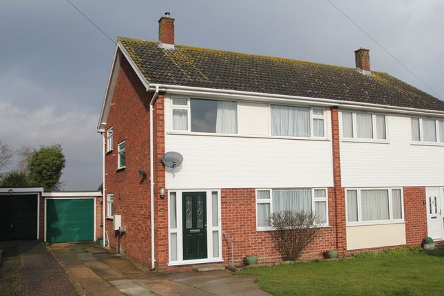 Thumbnail Semi-detached house for sale in The Rise, Eight Ash Green, Colchester