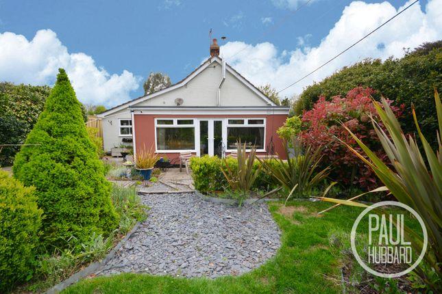 Thumbnail Detached bungalow for sale in Wash Lane, Wenhaston, Halesworth